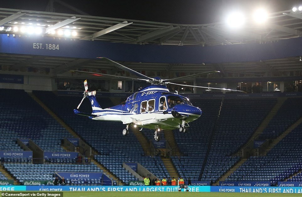 leicester helicopter