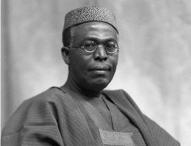 Photo of What Awolowo said about Buhari before he died