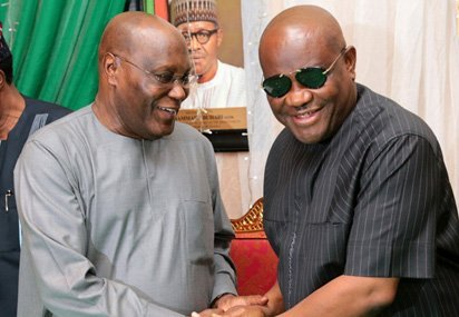 Photo of Governor Wike pledges support for Atiku, to remain in PDP