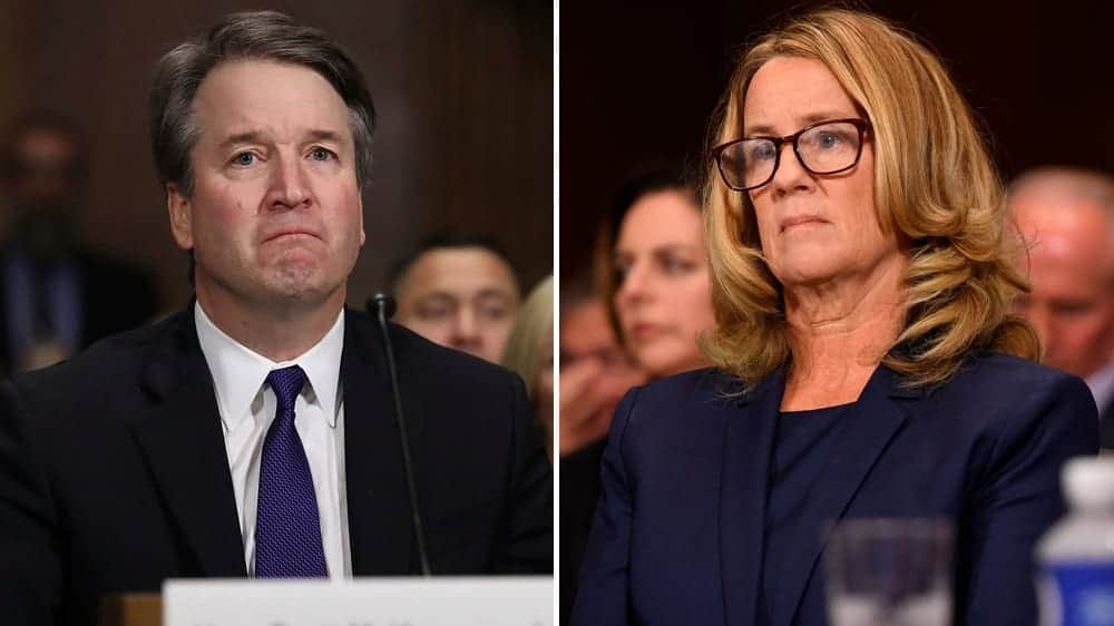 trump christine basely ford