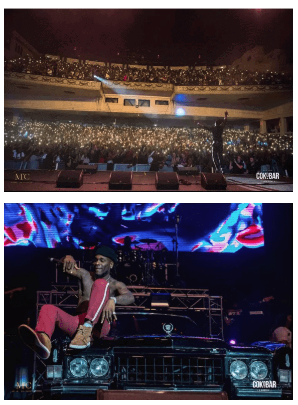 Photo of Photos: Burna Boy sells out concert at the O2 Academy in London