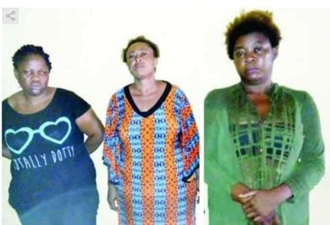 Photo of Three women arrested after selling 2-yr-old girl in Delta