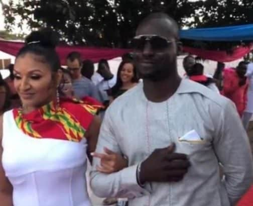 Photo of Ghanaian actor, Chris Attoh remarries barely a year after divorcing Damilola Adegbite