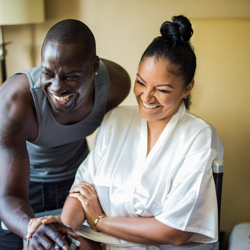 Image result for Chris Attoh wife