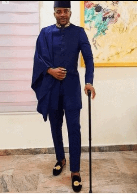 Photo of Ebuka's outfit to the premiere of Kemi Adetiba's new movie
