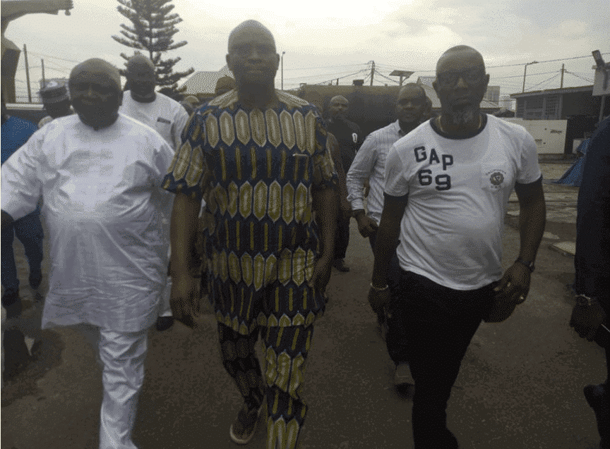 Photo of Fayose meets bail conditions, gets released (Photos)