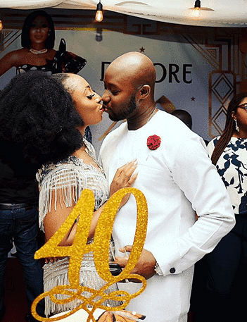 Photo of How Dakore Egbuson-Akande's husband convinced her to mark her 40th birthday (photos)