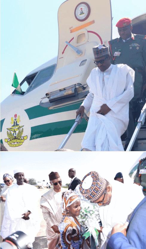 Photo of Kaduna crisis: Buhari in Kaduna to meet with stakeholders