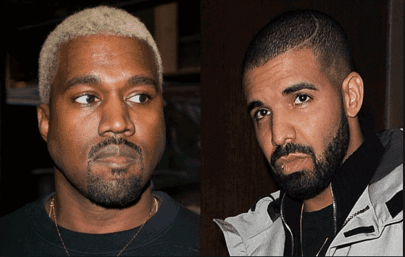 Photo of Kanye West lashes Drake for following his wife, Kim Kardashian on social media