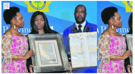 Photo of Mum who reported her killer son gets rewarded