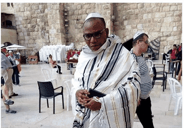 Photo of Buhari is dead – Nnamdi Kanu claims in live broadcast from Jerusalem