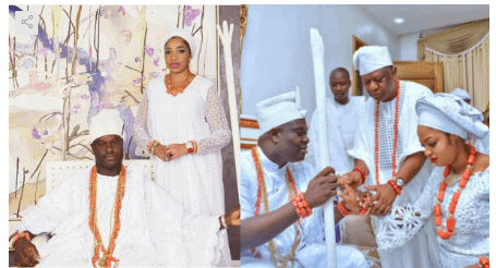 Photo of Ooni of Ife's wife, Prophetess Seyi Naomi shares stunning photos for Mother's day