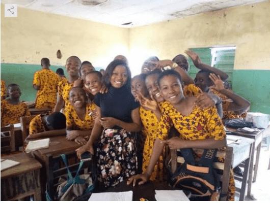 Photo of Nigerian school trends over traditional school uniform