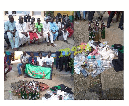Photo of 400 Shiites arrested with bombs, drugs in Abuja