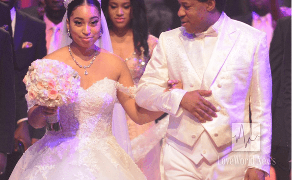 Photo of Nathaniel Bassey, others react after Chris Oyakhilome's wife missed daughter's wedding