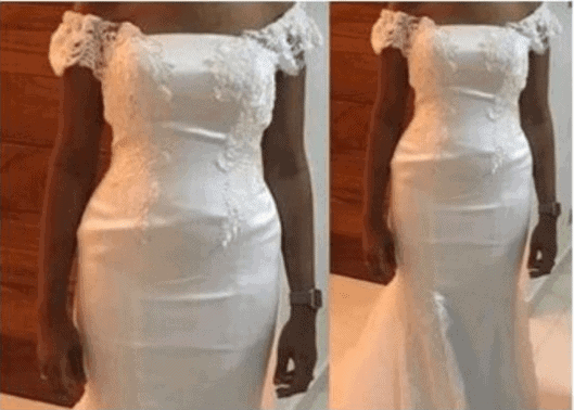 Photo of Nigerian designer collects N1.8m for this wedding dress