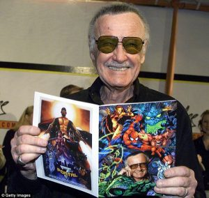 Photo of Marvel's Comic Legend Stan Lee Dead At 95