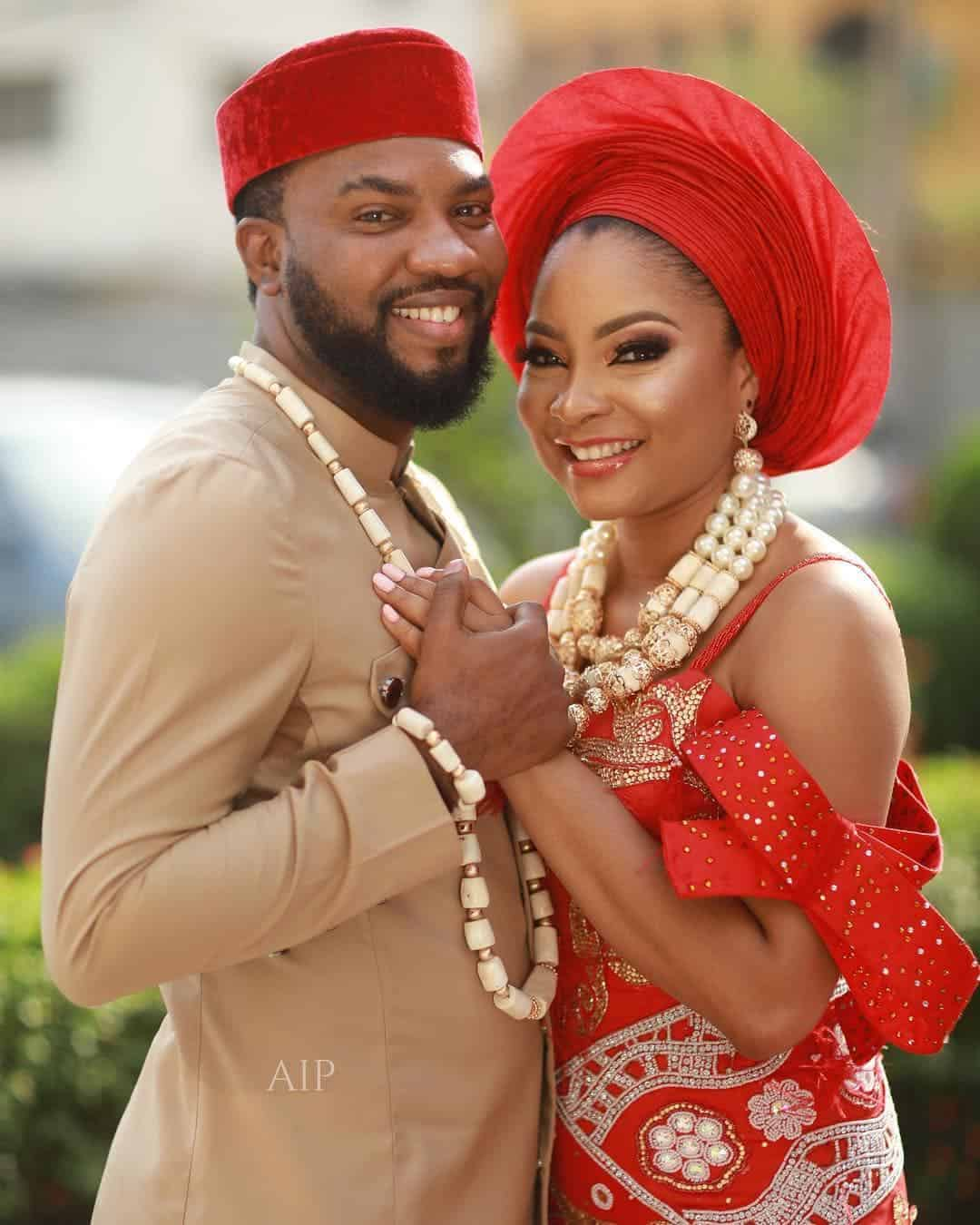 Photo of Linda Ejiofor and Ibrahim Suleiman are now married (Photos)