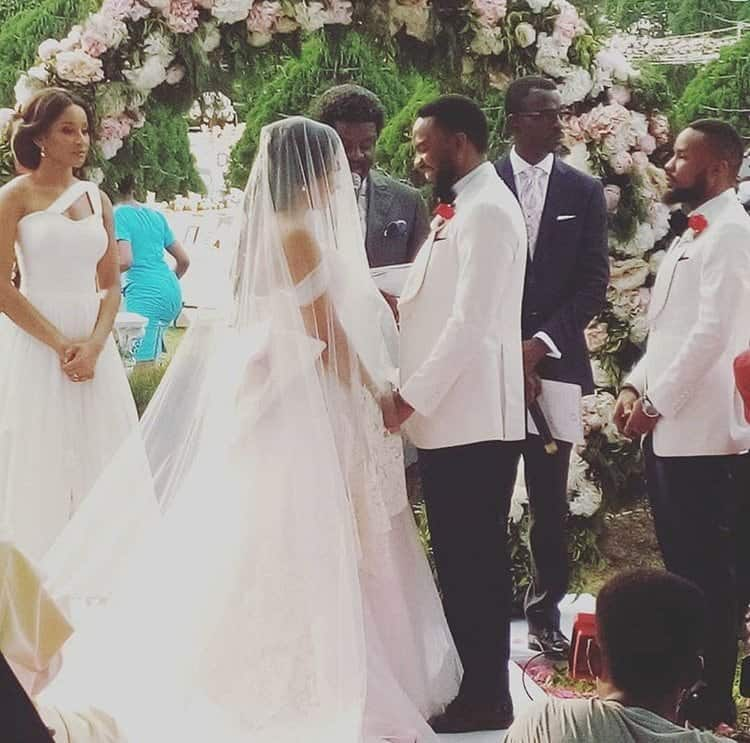 Photo of First photos emerge from Linda Ejiofor's wedding to Ibrahim Suleiman
