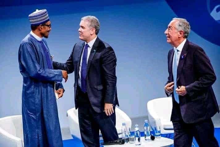 Buhari Paris meeting