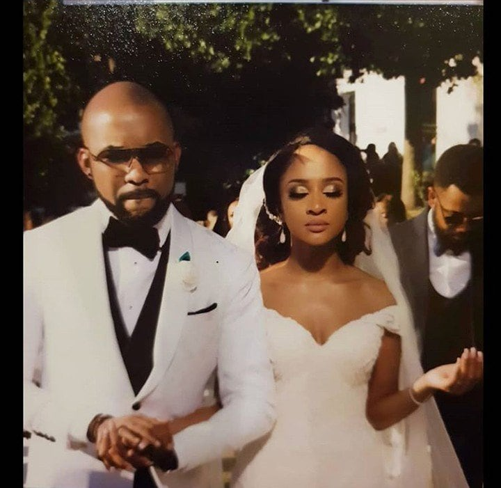 Banky W and Adesua Etomi celebrate first wedding anniversary