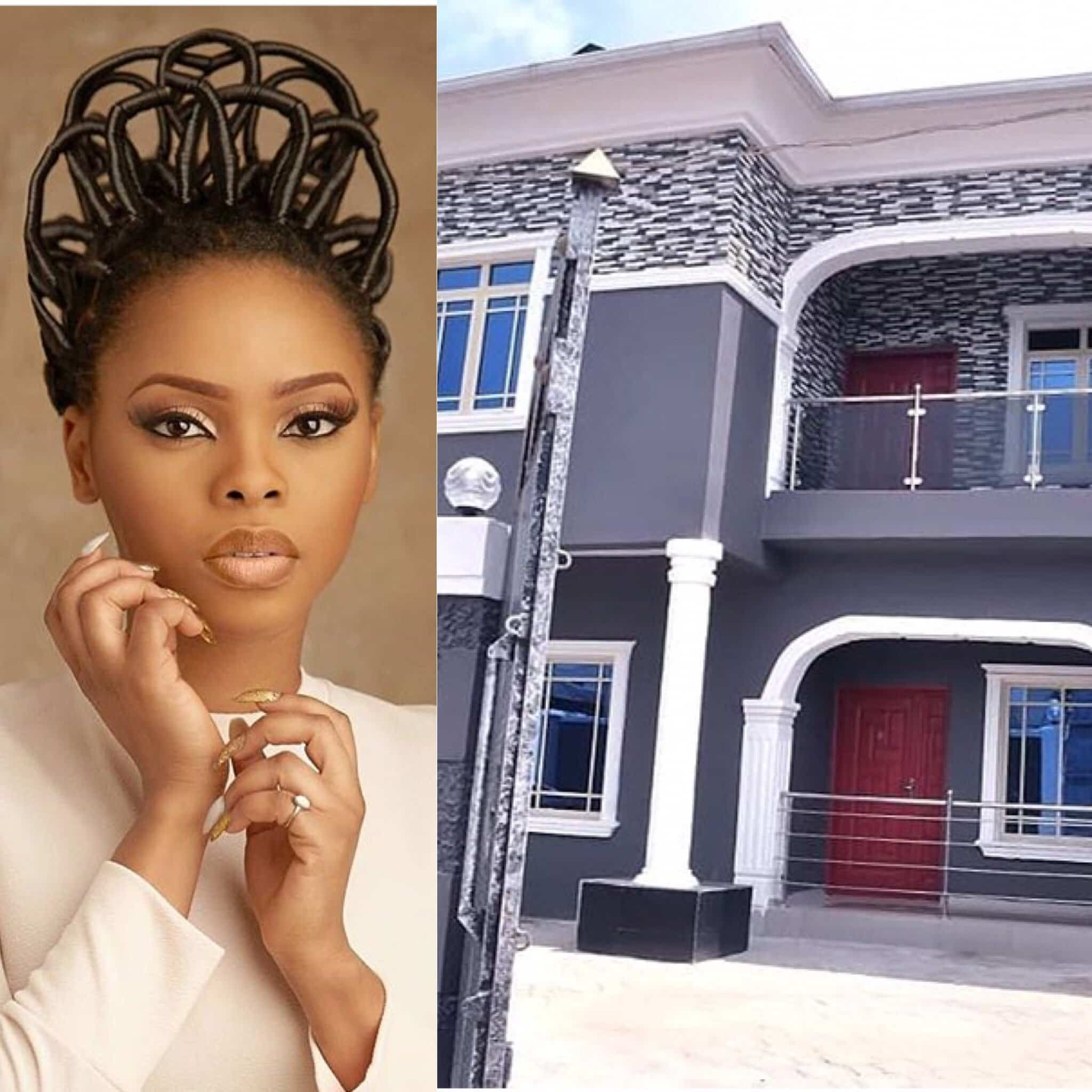 Photo of Chidinma buys mum new house for her 60th birthday