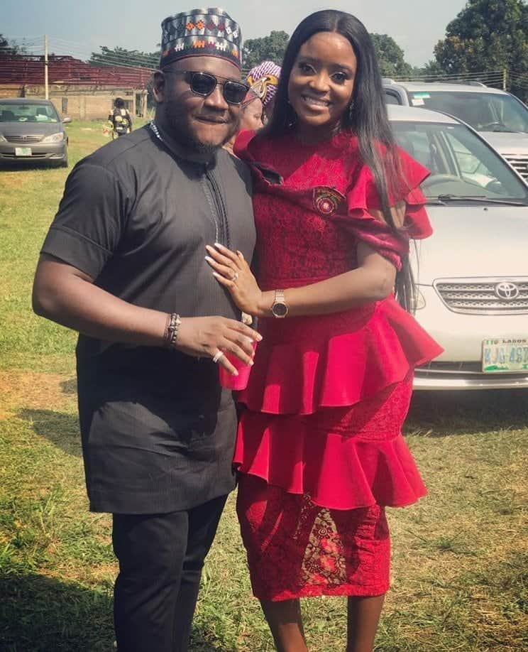 Photo of Comedian, Ajebo's wife bags First Class Honors in Statistics