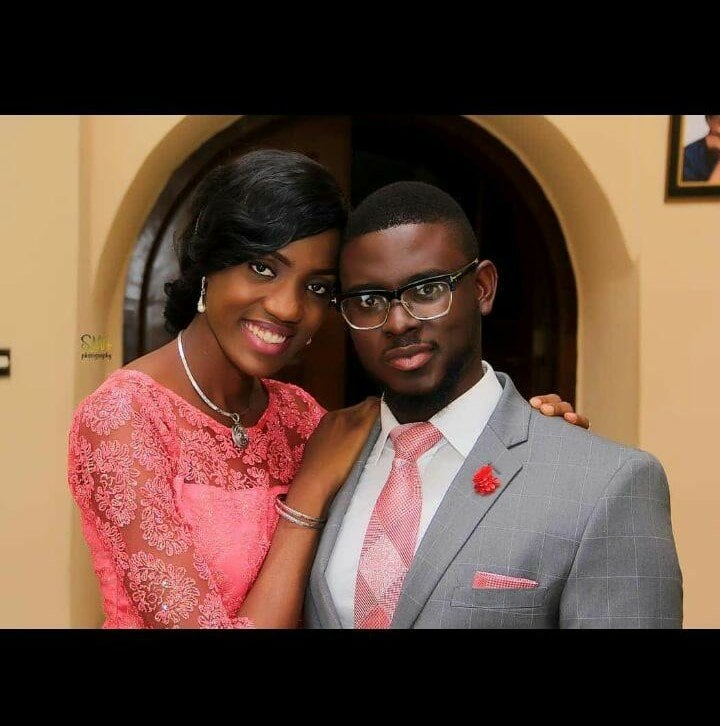 Photo of Dami Mike-Bamiloye's wife, Ella recounts falling in love with a wrong 'brother'