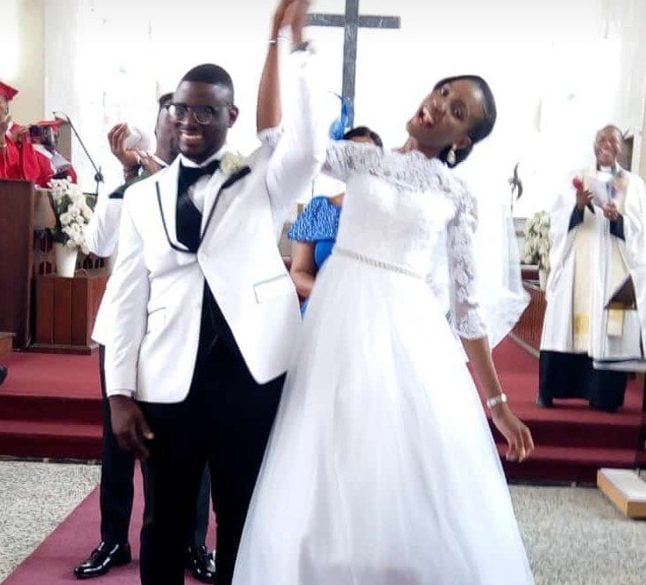 Photo of Damilola Mike-Bamiloye weds his beautiful bride in style (Photos)