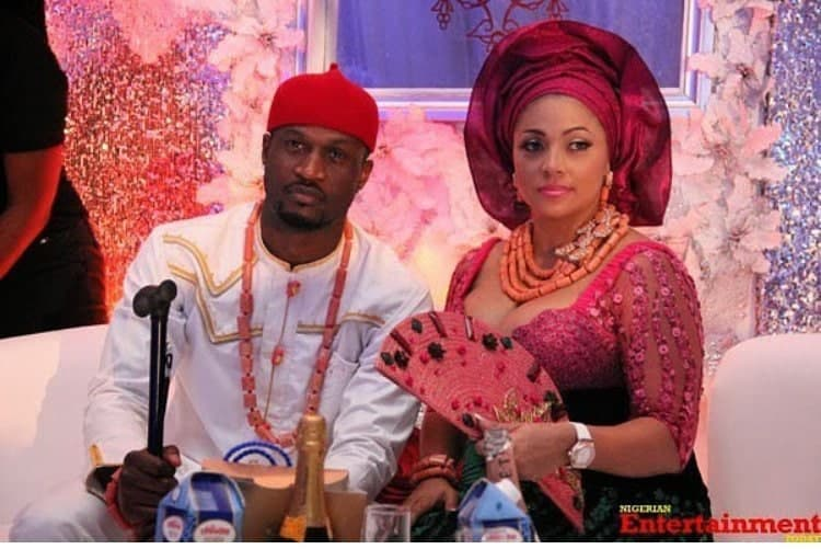 "Photo of ""You gave me my first air-conditioned car – Peter PSquare writes glowing tribute to wife, Lola on their wedding anniversary"