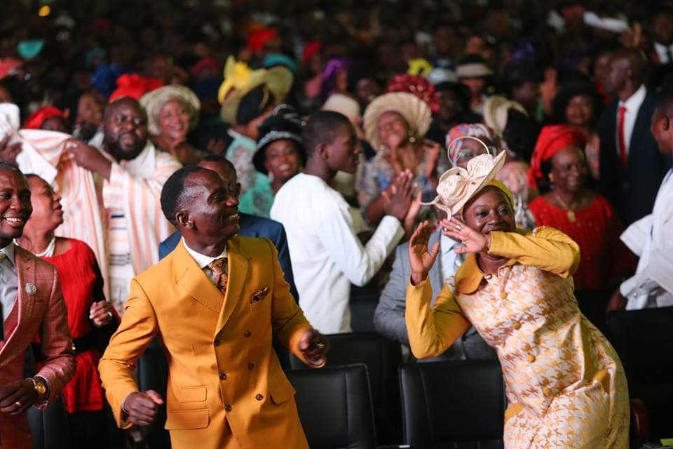 Photo of How the first Sunday service at Dunamis' 100,000 capacity auditorium looked like (Photos)