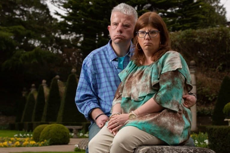 Photo of Meet the couple who have fallen in love but cannot smile because of a rare condition