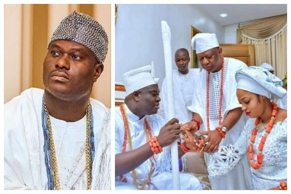 Photo of Ooni of Ife had a spiritual wife before marrying prophetess Naomi (details)