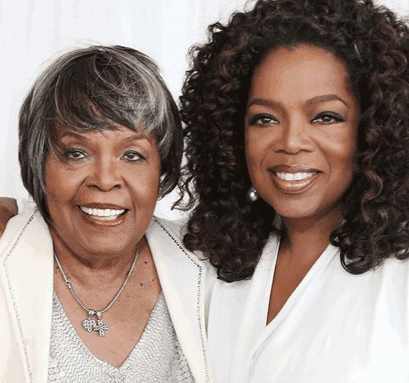 Photo of Oprah Winfrey's mum is dead