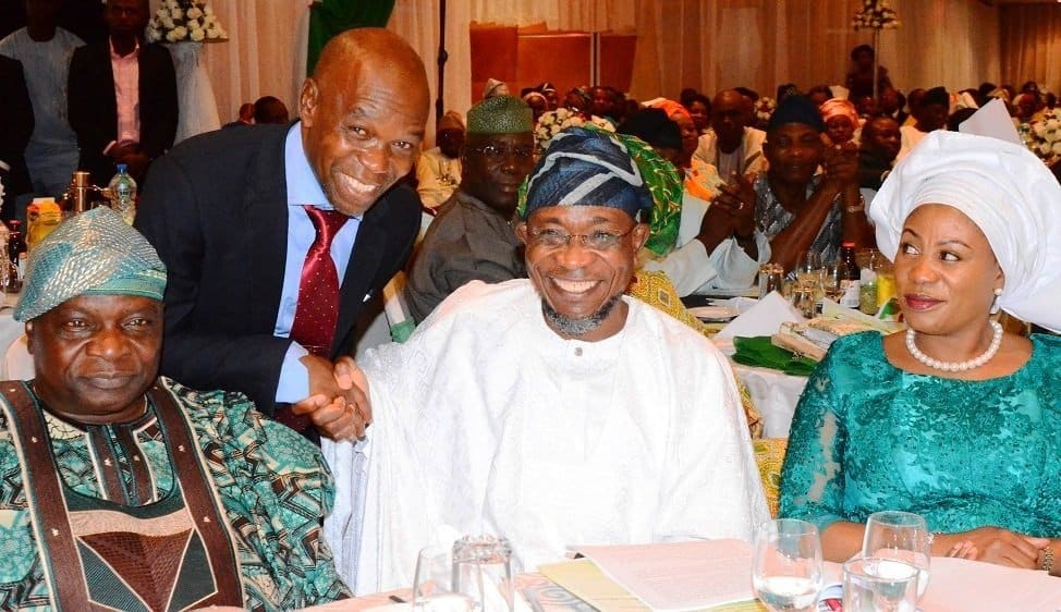 Photo of Aregbesola reveals why he has not enjoyed his wife for eight years