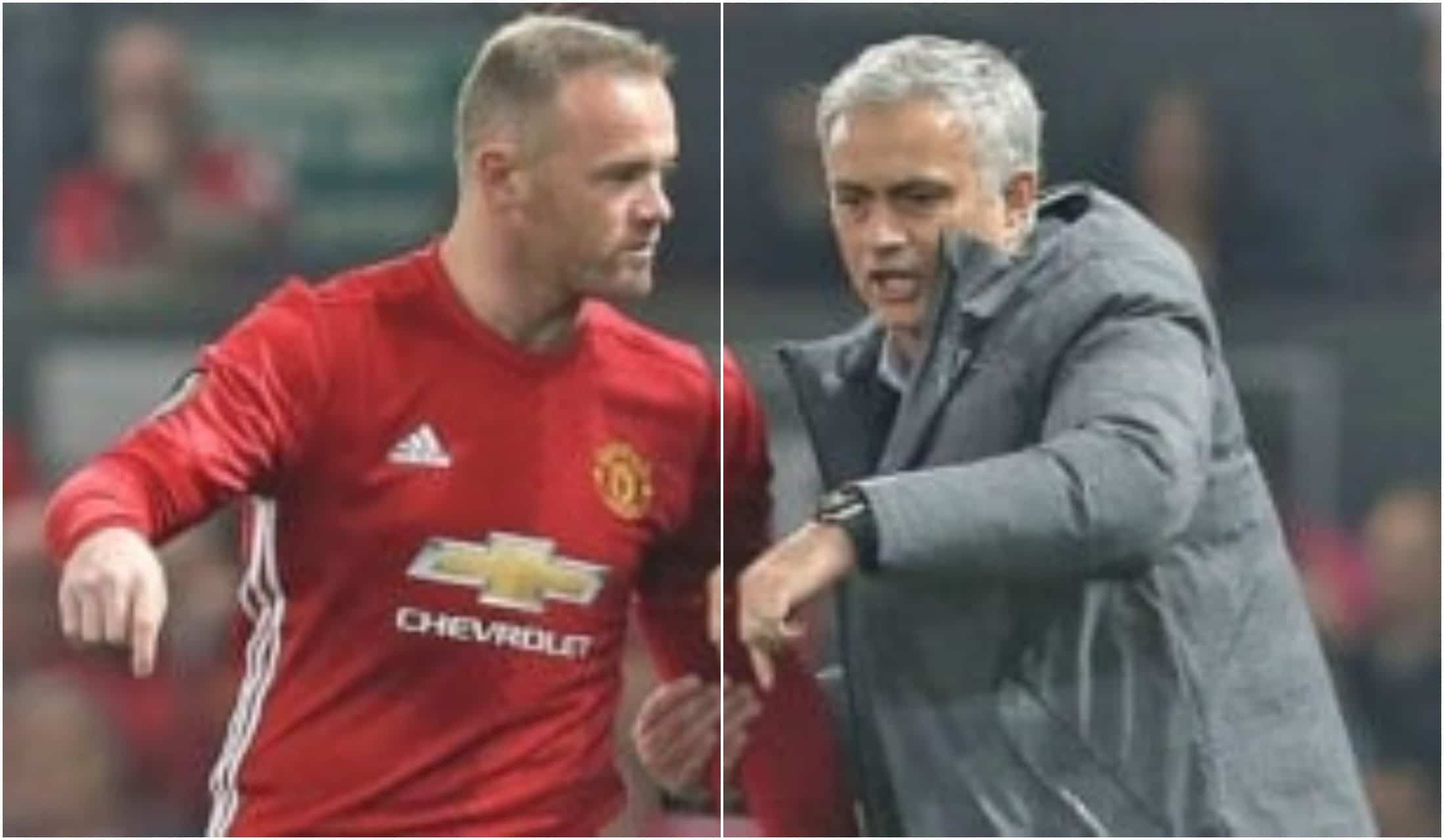 Wayne Rooney Mourinho