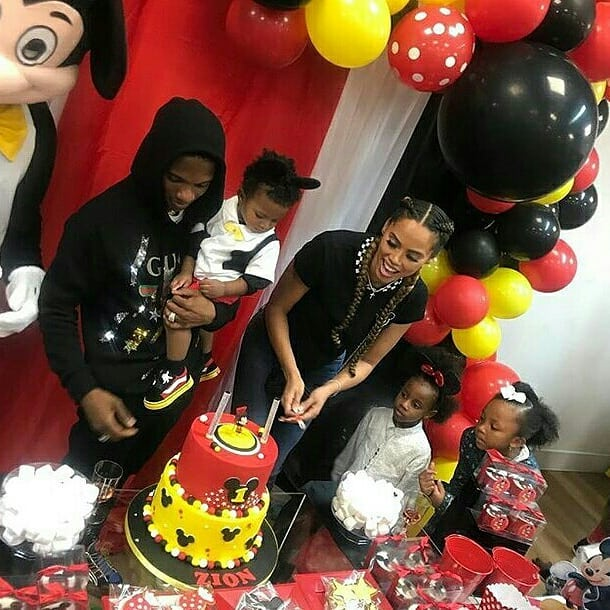 wizkid's son's birthday party