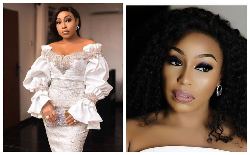 Photo of How Rita Dominic reacted to her phone number being leaked on Instagram