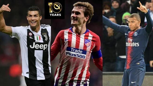 Photo of Ronaldo, Mbappe, Griezmann make Globe Soccer Awards final shortlist