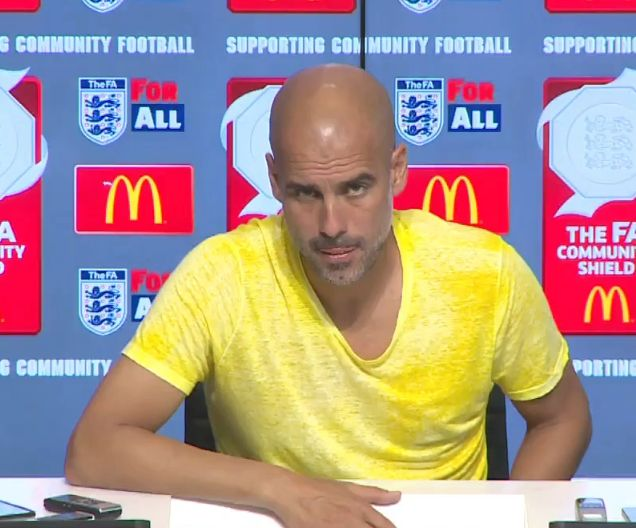 Photo of Guardiola reveals why his team defeated Manchester United