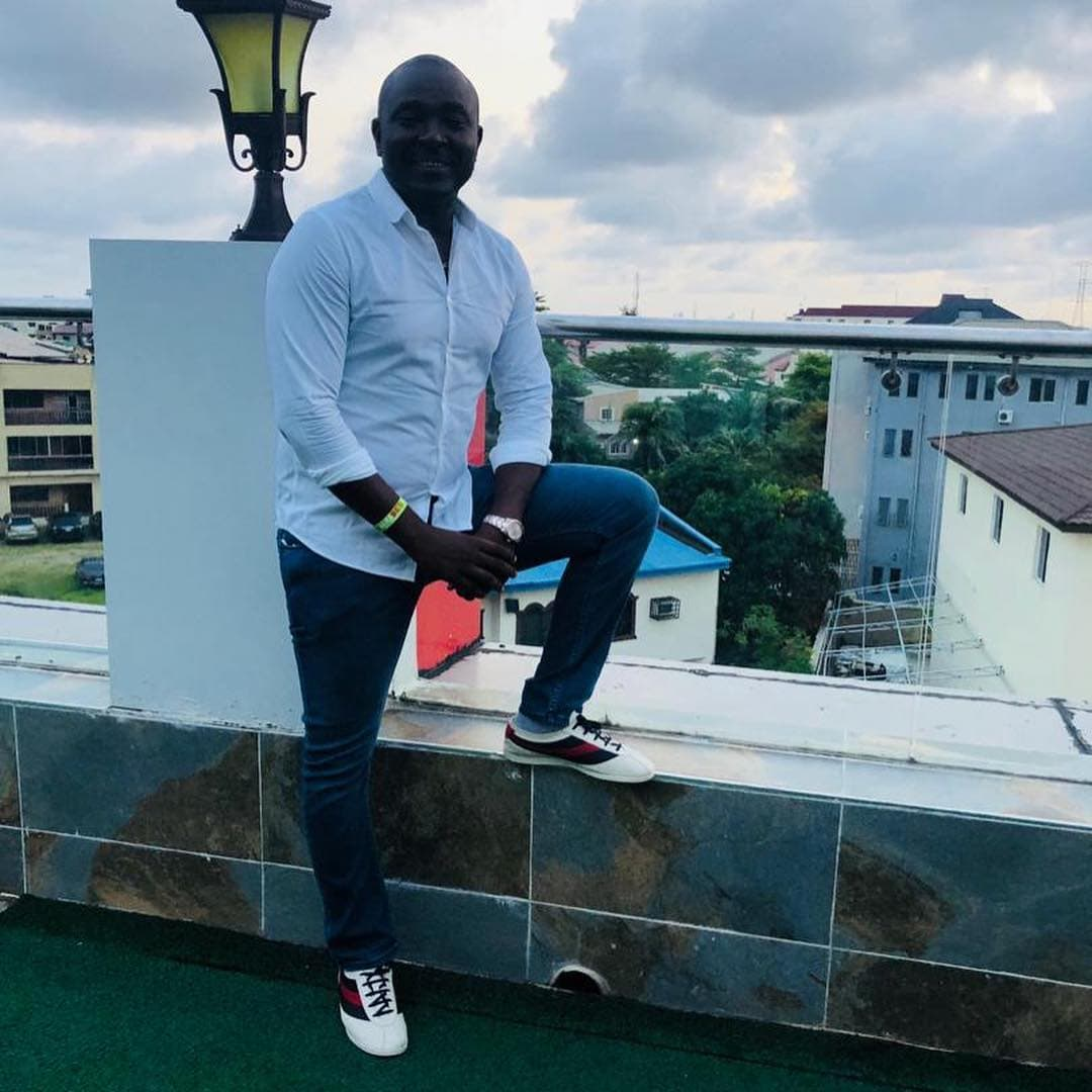 Photo of Akin Alabi shows off the exterior and interior of his Nairabet office (Photos)