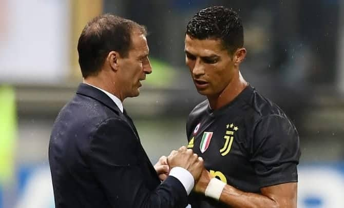 Photo of Allegri reveals what Ronald will do against Manchester United