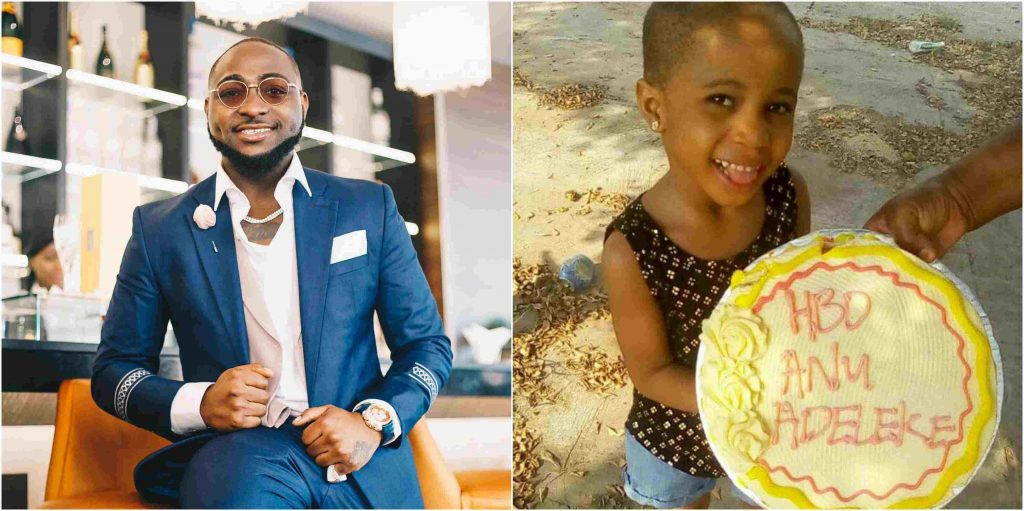 davido first daughter