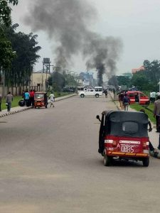 Awka Ibom State House Of Assembly Under Attack - PDP