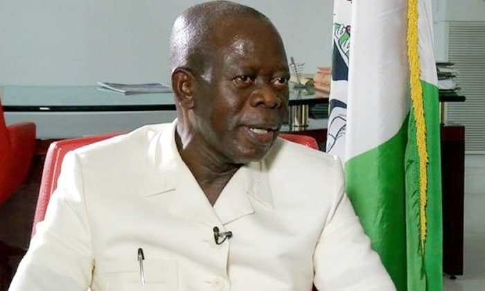 Photo of PDP alleges Oshiomole is on the run, asks INTERPOL, NIA to track him now