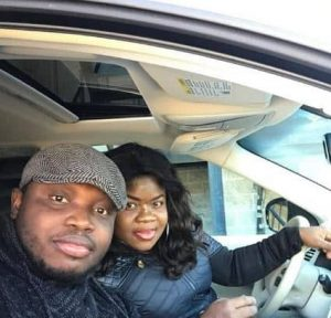 man surprises wife with a new car