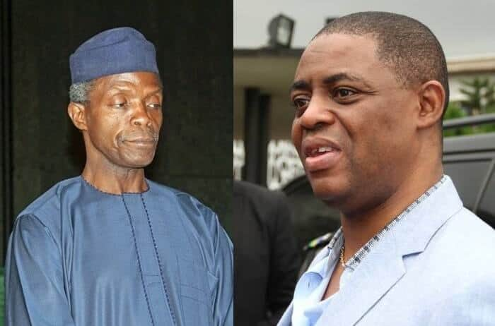 Photo of Osinbajo is only a pastor by name – Femi Fani-Kayode