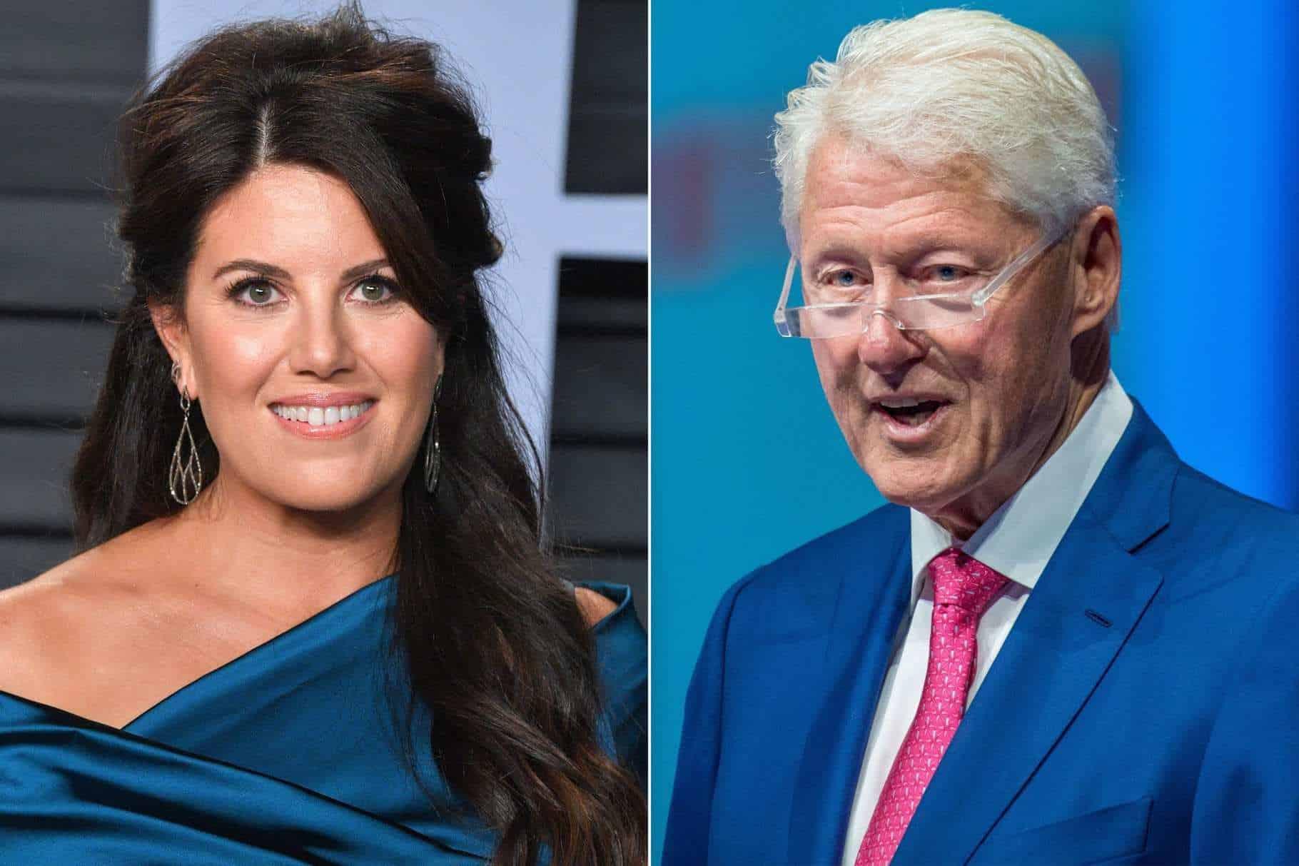 I flashed my underwear to attract Bill Clinton - Monica Lewinsky