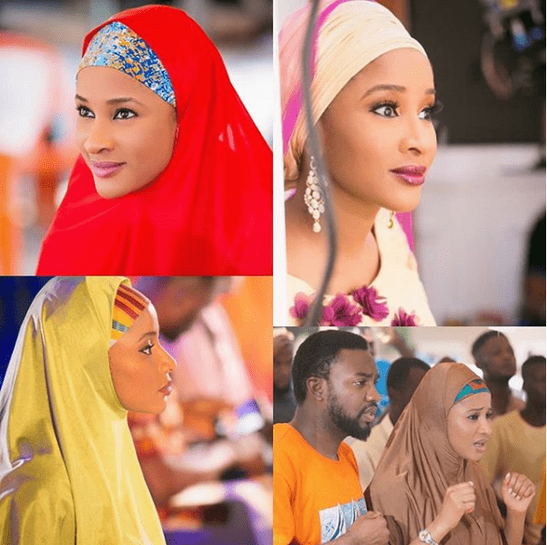 Photo of Nollywood actress, Adesua Etomi rocks Hijab