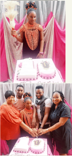 Photo of Ronke Oshodi-Oke celebrates 10 year old daughter in style